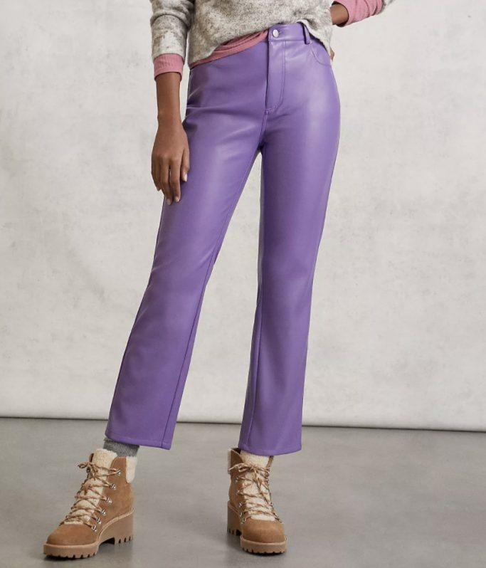 Anthropologie Leather Pants