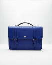 "<p>A jolt of colour to a classic shapes gives dad a nice upgrade with plenty of room of all of his needs. <i>($269 <a href=""http://www.tedbaker.com/row/Mens/Accessories/Bags/FREDIM-Pebble-grain-satchel-Blue/p/124609-14-BLUE"" rel=""nofollow noopener"" target=""_blank"" data-ylk=""slk:via Ted Baker"" class=""link rapid-noclick-resp"">via Ted Baker</a>)</i></p>"