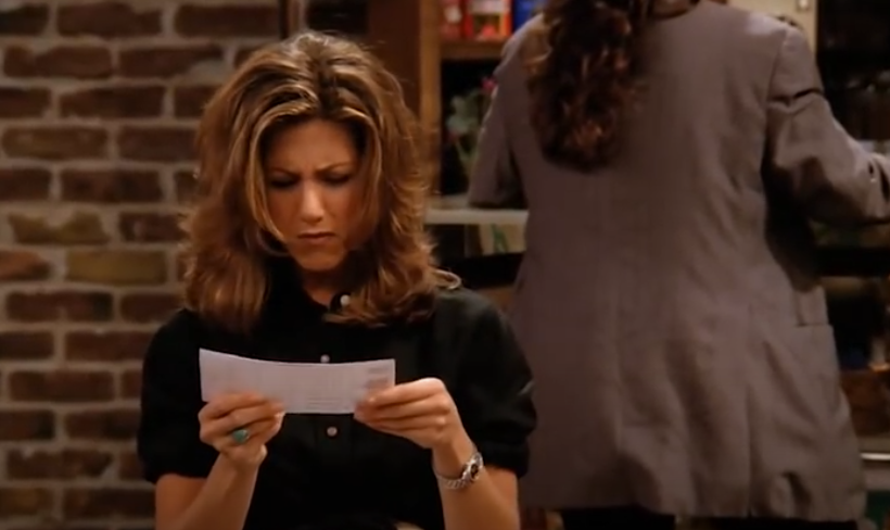 """<p>In season 1 of <em>Friends</em>, Rachel is *so* excited to get her first paycheck from her waitressing job at Central Perk—until she realizes just how much money is taken out for taxes. It's not exactly a fun chore, but <a href=""""https://www.cnbc.com/2018/03/26/heres-the-reason-you-need-to-check-your-pay-stub.html"""" rel=""""nofollow noopener"""" target=""""_blank"""" data-ylk=""""slk:monitoring your pay stubs"""" class=""""link rapid-noclick-resp"""">monitoring your pay stubs</a> to make sure all the information is accurate and there are no clerical errors is a smart habit.</p>"""