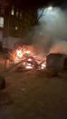 Protests over COVID-19 curfew in Rotterdam