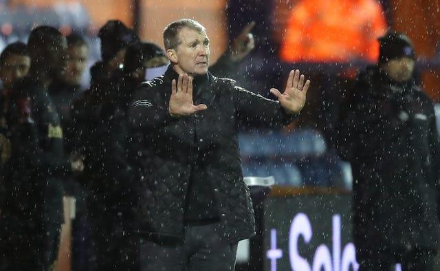 Jim Gannon was pleased with the way Stockport acquitted themselves
