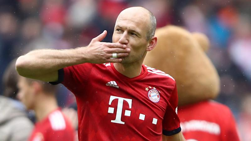 Retired Robben won't rule out shock return to action