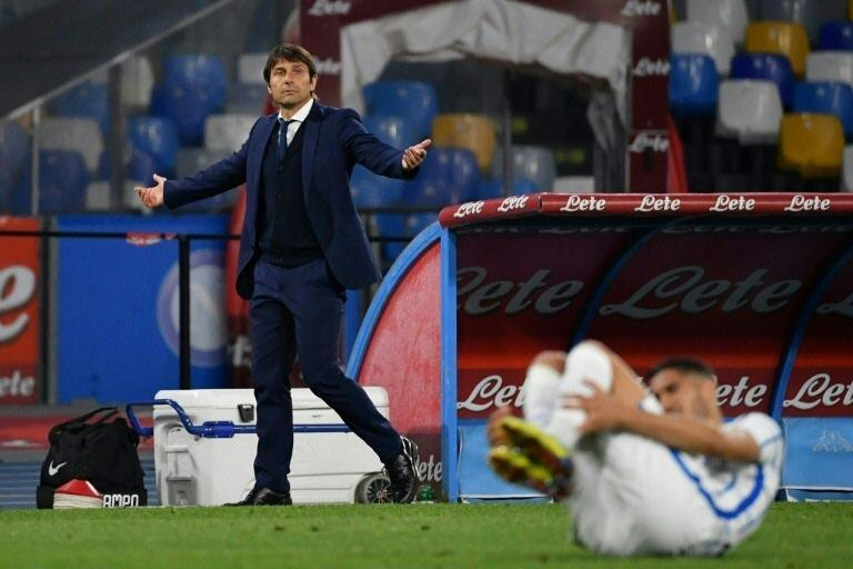 Inter coach Antonio Conte says players 'squeezed like lemons'