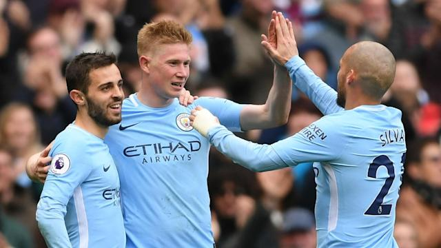 City's title celebrations were matched by a brilliant performance at the Etihad that set new benchmarks in passing and possession