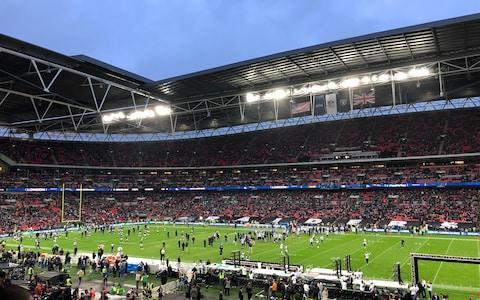 <span>Wembley ready to rock</span> <span>Credit: Ben Coles </span>