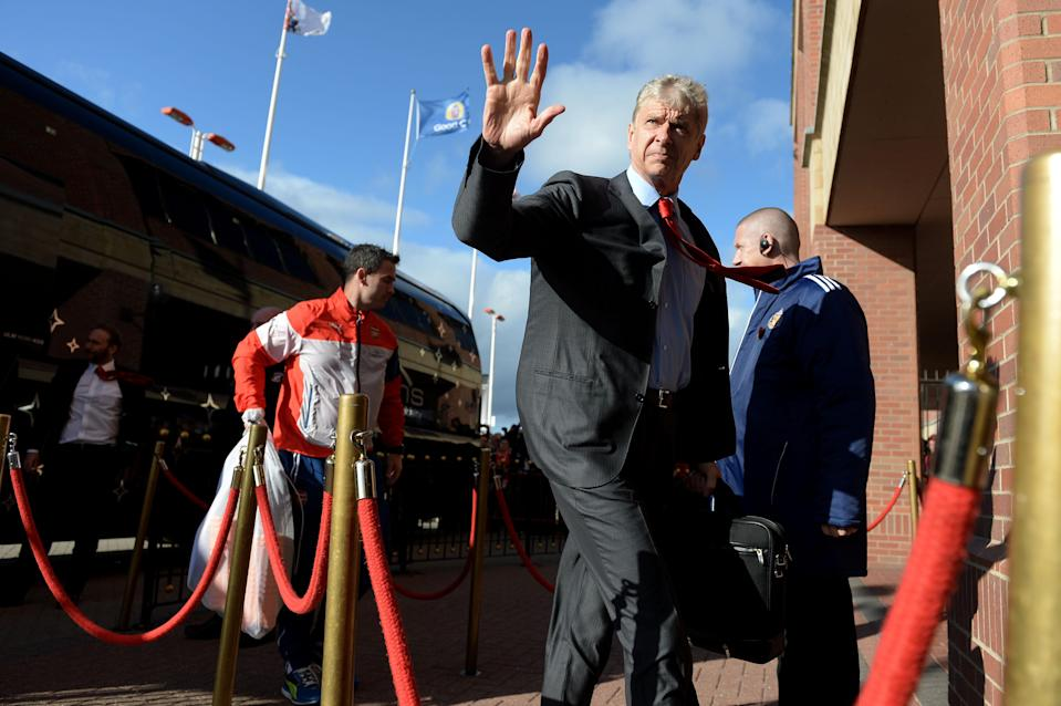 Arsene Wenger is waving goodbye to Arsenal fans and the Premier League. (Getty)
