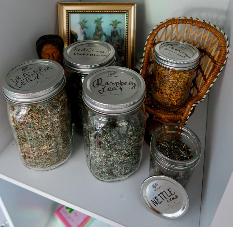 """""""Many medicinal herbs are for internal and external use! Here are some of my favorites."""""""