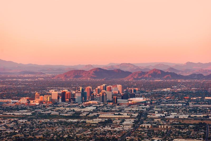 """<a href=""""http://www.latimes.com/nation/la-na-phoenix-climate-adapt-20170327-story.html"""" target=""""_blank"""">Climatologists have serious doubts</a>&nbsp;that&nbsp;Phoenix will be habitable in the future. The Smithsonian reports that, according to University of Arizona climatologist&nbsp;Jonathan Overpeck, temperatures in this desert metropolis could typically <a href=""""http://www.smithsonianmag.com/science-nature/reality-hotter-world-already-here-180951172/"""" target=""""_blank"""">reach 130 degrees Fahrenheit or more</a>&nbsp;""""by the second half of this century."""" Phoenix has experienced <a href=""""https://asunow.asu.edu/content/will-thirsty-phoenix-survive-climate-change"""" target=""""_blank"""">unusually severe droughts</a> recently, and the&nbsp;<a href=""""https://architizer.com/blog/cities-threatened-by-climate-change/"""" target=""""_blank"""">dwindling water supply</a>&nbsp;is a concern."""