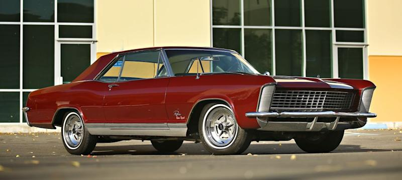 1965 Buick Riviera Gs Sells For 121 000 In Scottsdale