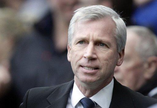 Pardew was sent off after he shoved linesman Peter Kirkup when the official failed to award his side a throw-in