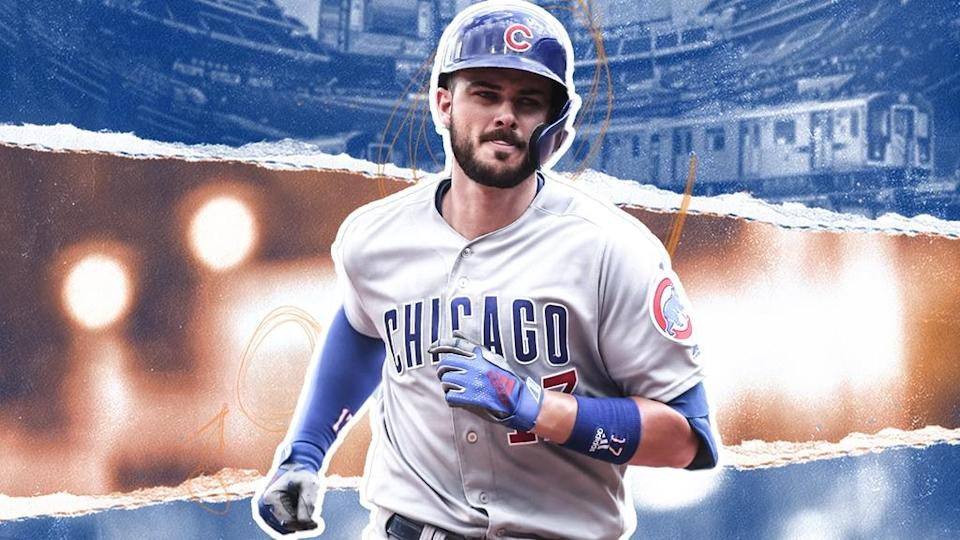 Kris Bryant Citi Field background TREATED ART