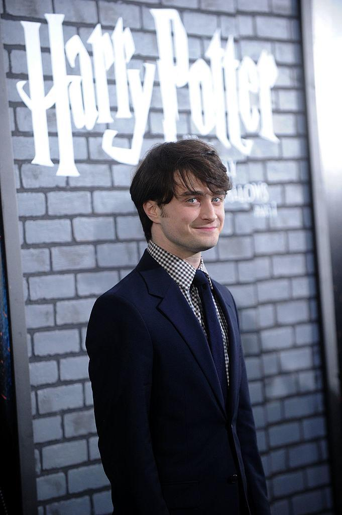 """Daniel Radcliffe attends the premiere of """"Harry Potter and the Deathly Hallows: Part 1"""""""