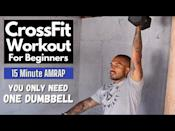 """<p>Another AMRAP session, this workout isn't a follow along but it'll give you everything you need to get the session done at home. Free weights, needed. </p><p><a href=""""https://www.youtube.com/watch?v=th7VAVjOxzQ&ab_channel=ConstantlyVariedFitness"""" rel=""""nofollow noopener"""" target=""""_blank"""" data-ylk=""""slk:See the original post on Youtube"""" class=""""link rapid-noclick-resp"""">See the original post on Youtube</a></p>"""