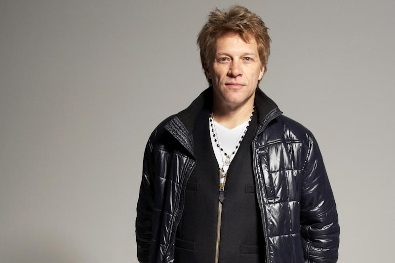 In this Nov. 29, 2012, photo, musician, singer, song-writer, record producer and actor Jon Bon Jovi poses for a portrait in the Brooklyn Borough of New York. Bon Jovi was in a jovial mood when he sat down with The Associated Press last week to discuss his group's upcoming projects, but turned somber when he discussed the some of the more painful events to hit him in 2012. (Photo by Dan Hallman/Invision/AP)