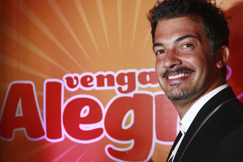 MEXICO CITY, MEXICO - JULY 08: Fernando del Solar attends a press conference to present the new season of TV show Venga la Alegria at Hacienda Los Morales on July 8, 2010 in Mexico City, Mexico. (Photo by Leonel Martinez/Jam Media/LatinContent via Getty Images)