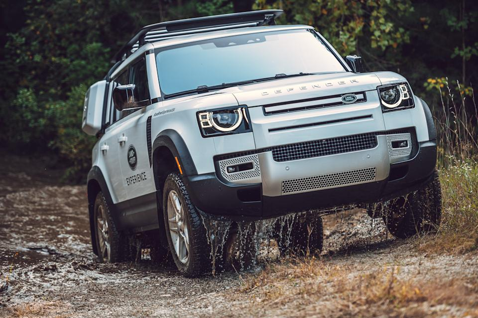 2020 Land Rover Defender (Credit: Land Rover)