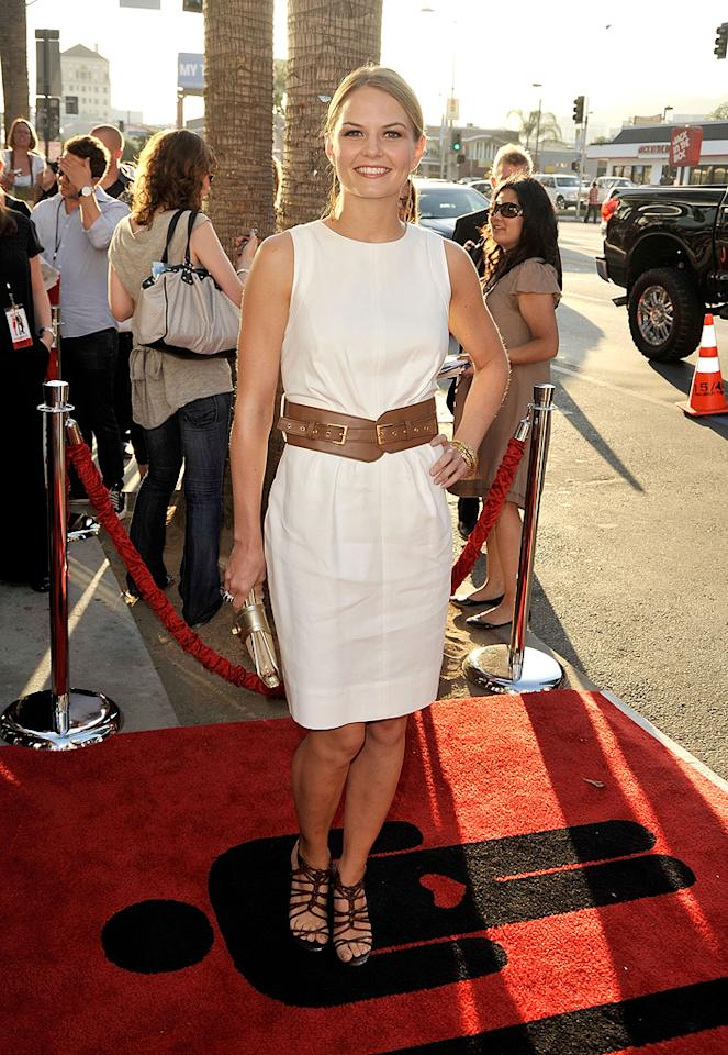 "<a href=""http://movies.yahoo.com/movie/contributor/1800552744"">Jennifer Morrison</a> at the Los Angeles premiere of <a href=""http://movies.yahoo.com/movie/1810021980/info"">The Ugly Truth</a> - 07/16/2009"
