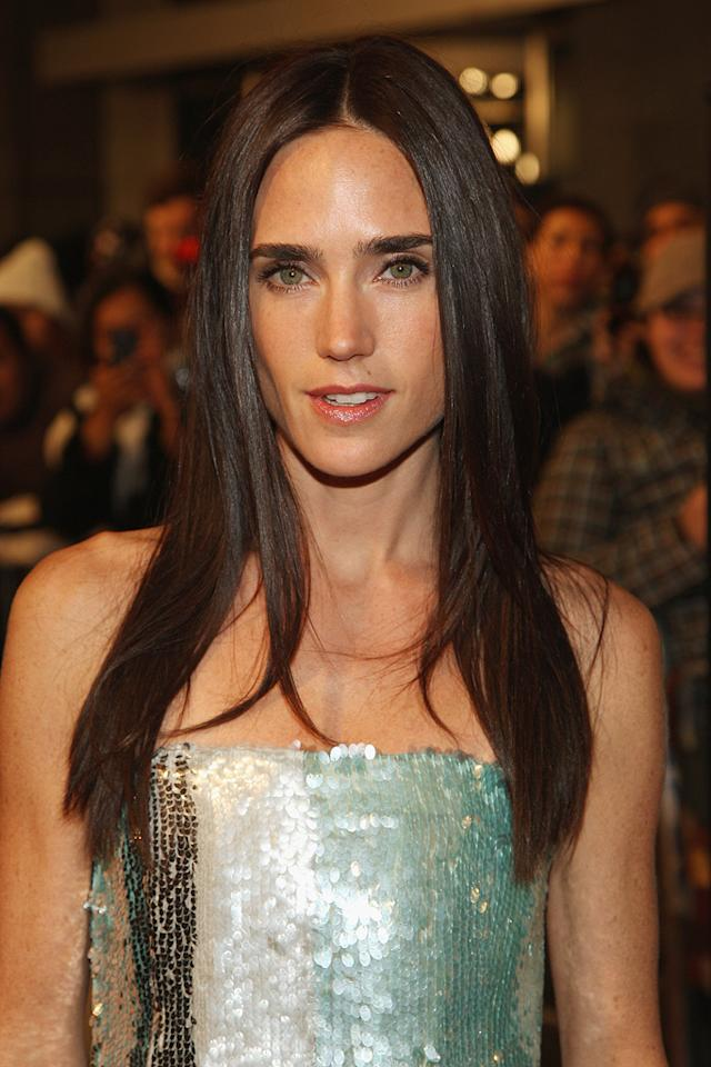 "<a href=""http://movies.yahoo.com/movie/contributor/1800021142"">Jennifer Connelly</a> at the New York premiere of <a href=""http://movies.yahoo.com/movie/1809966785/info"">The Day the Earth Stood Still</a> - 12/09/2008"