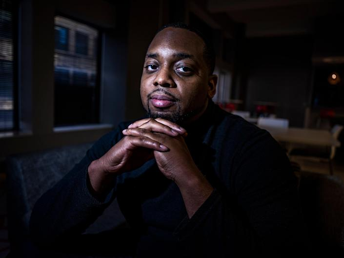 In this April 28, 2021 photo, Brandon Mitchell, a juror in the trial of former Minneapolis police Officer Derek Chauvin for the killing of George Floyd, poses for a picture, in Minneapolis.  (AP)