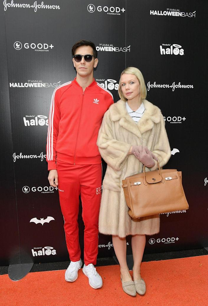 """<p>Anyone who's a fan of the Wes Anderson drama <em>The Royal Tenenbaums </em>is sure to get a kick out of these Chas and Margot costumes. </p><p><a class=""""link rapid-noclick-resp"""" href=""""https://www.amazon.com/Autumn-Splicing-Zipper-Sweatshirt-Tracksuit/dp/B07X2RCSXN?tag=syn-yahoo-20&ascsubtag=%5Bartid%7C10070.g.1923%5Bsrc%7Cyahoo-us"""" rel=""""nofollow noopener"""" target=""""_blank"""" data-ylk=""""slk:SHOP RED TRACKSUIT"""">SHOP RED TRACKSUIT</a></p><p><a class=""""link rapid-noclick-resp"""" href=""""https://www.amazon.com/Womens-Cardigan-Outwear-Jackets-Pockets/dp/B081HC2BCZ?tag=syn-yahoo-20&ascsubtag=%5Bartid%7C10070.g.1923%5Bsrc%7Cyahoo-us"""" rel=""""nofollow noopener"""" target=""""_blank"""" data-ylk=""""slk:SHOP FUR COAT"""">SHOP FUR COAT </a></p>"""