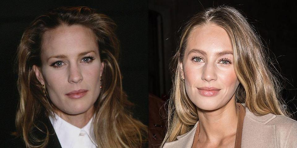 """<p>When Robin Wright was 27 years old, she was a household name in Hollywood and one of her most iconic roles as Jenny Curran in <em>Forrest Gump</em> was just about to premiere. Robin's daughter with Sean Penn, Dylan, is a model and actress<em>. </em>You might recognize her as the mystery woman from Nick Jonas' """"Chains"""" music video.</p>"""
