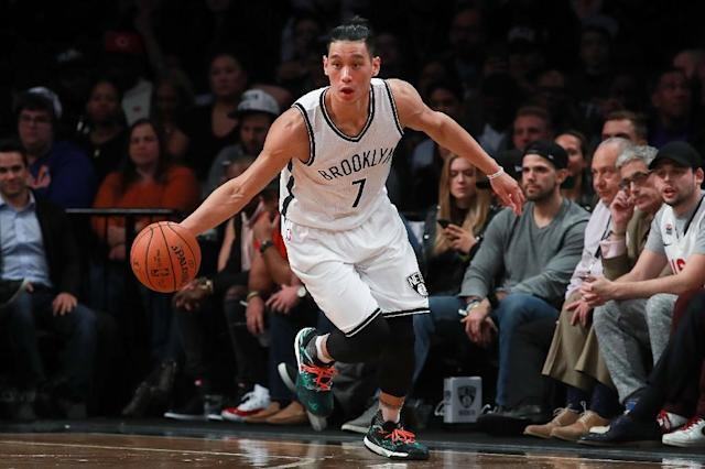 Brooklyn Nets guard Jeremy Lin outlined the reasons for wearing dreadlocks in a Players Tribune website essay on October 3, 2017 (AFP Photo/Michael Reaves)