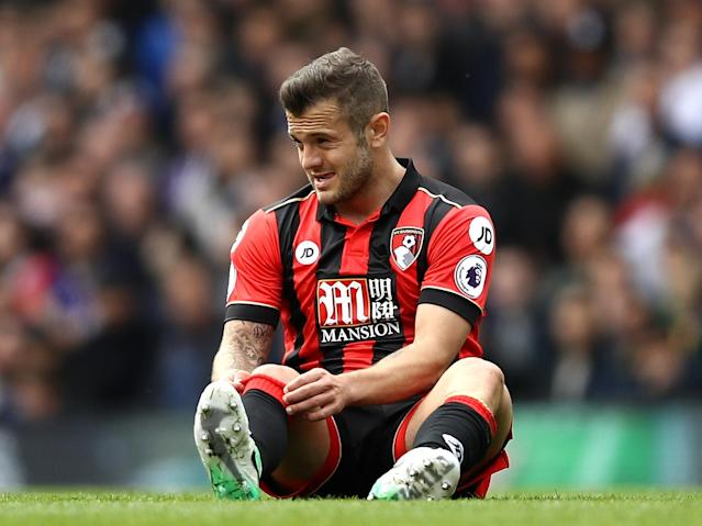 Wilshere was in the thick of the action against Spurs: Getty