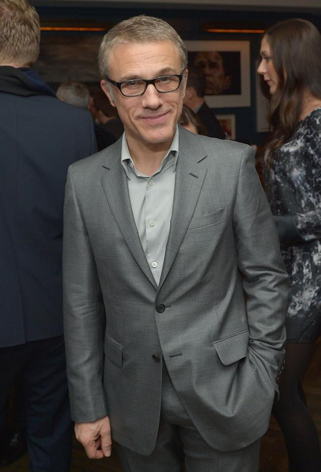 Christoph Waltz attends The Weinstein Company and Chopard's Academy Award Party in association with Grey Goose at Soho House on February 23, 2013 in West Hollywood, California.