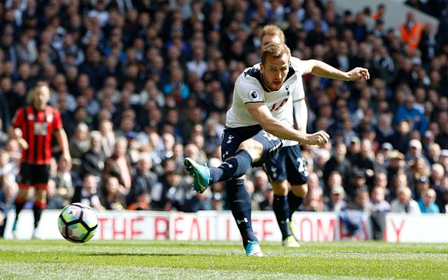 <span>Harry Kane scored on his first start since returning from injury</span> <span>Credit: reuters </span>