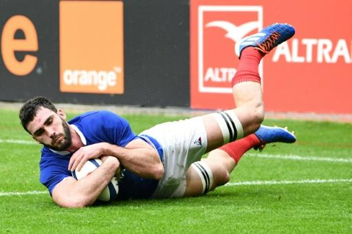 France captain Charles Ollivon scored two tries in the 24-17 win over England