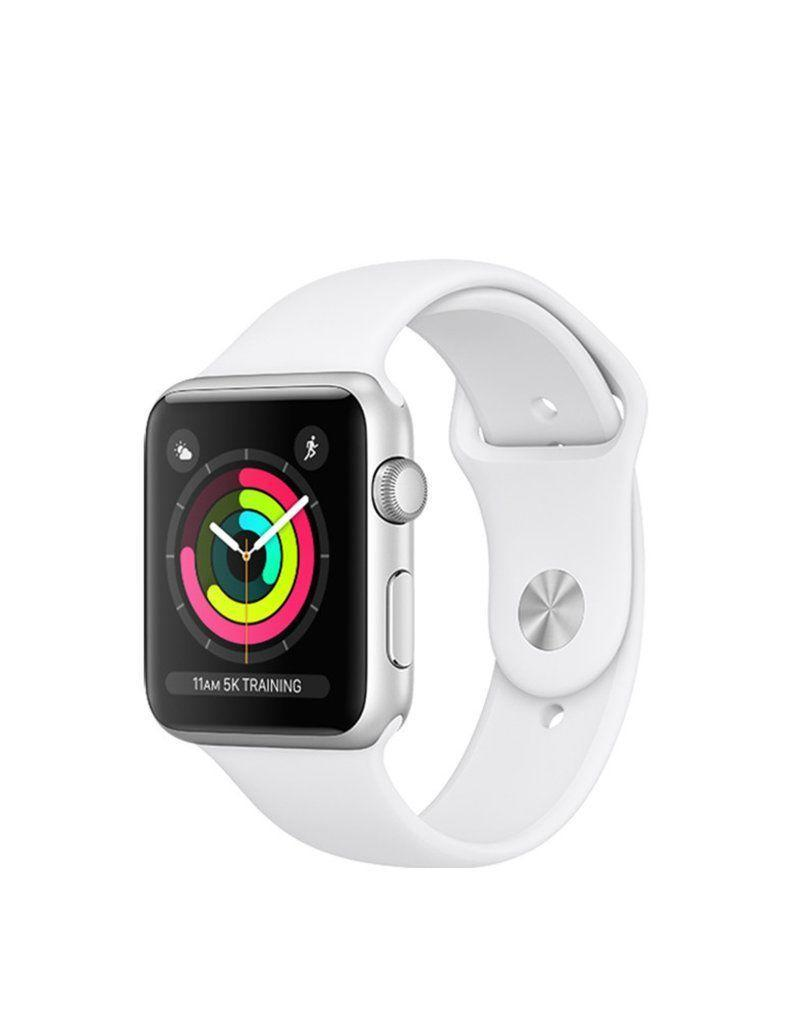 """<p><strong>Apple</strong></p><p>amazon.com</p><p><a href=""""https://www.amazon.com/dp/B07K3HG6T9?tag=syn-yahoo-20&ascsubtag=%5Bartid%7C10056.g.36788447%5Bsrc%7Cyahoo-us"""" rel=""""nofollow noopener"""" target=""""_blank"""" data-ylk=""""slk:Shop Now"""" class=""""link rapid-noclick-resp"""">Shop Now</a></p><p><del>$229.00</del> $199.00 <strong>(13% off)</strong></p><p>This model packs all of the essential Apple Watch features without breaking the bank: like tracking your workouts while also serving as a wing woman to your iPhone. <br></p>"""
