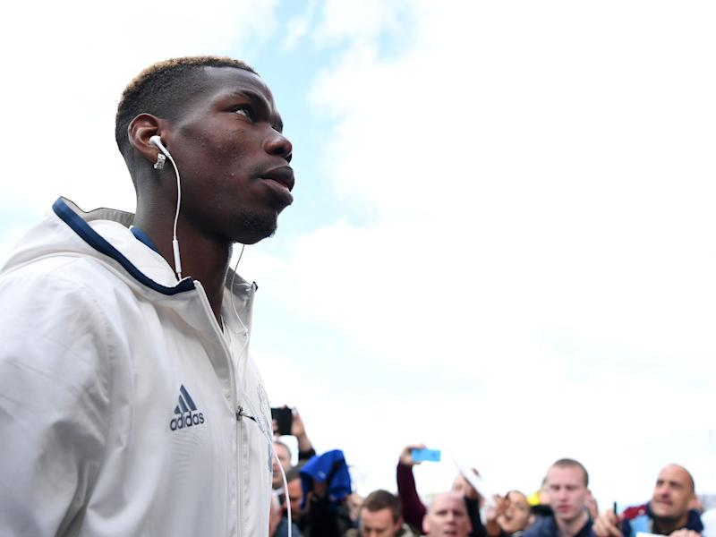 Paul Pogba will miss the trip to the Etihad with a muscle injury: Getty