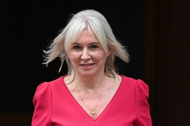 <strong>Newly-appointed culture secretary Nadine Dorries departs Downing Street.</strong> (Photo: Leon Neal via Getty Images)
