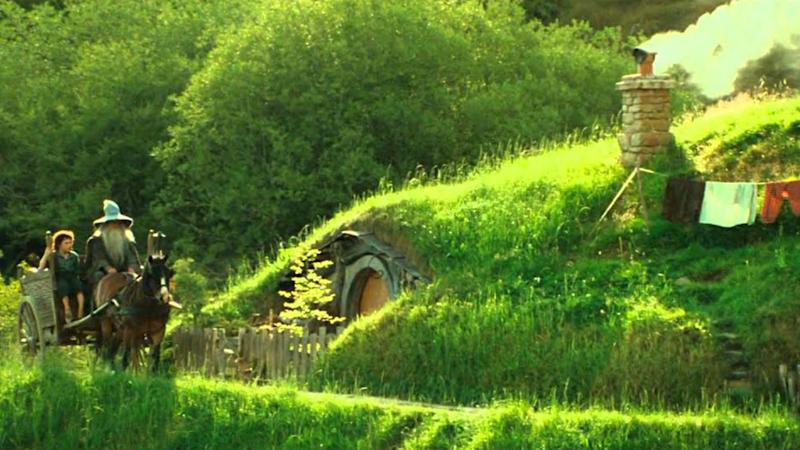 Lord of the rings Hobbiton the shire