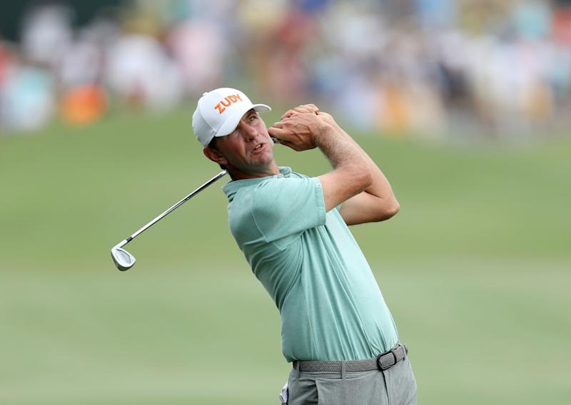 Lucas Glover's wife arrested for domestic violence; reportedly attacked him for bad round