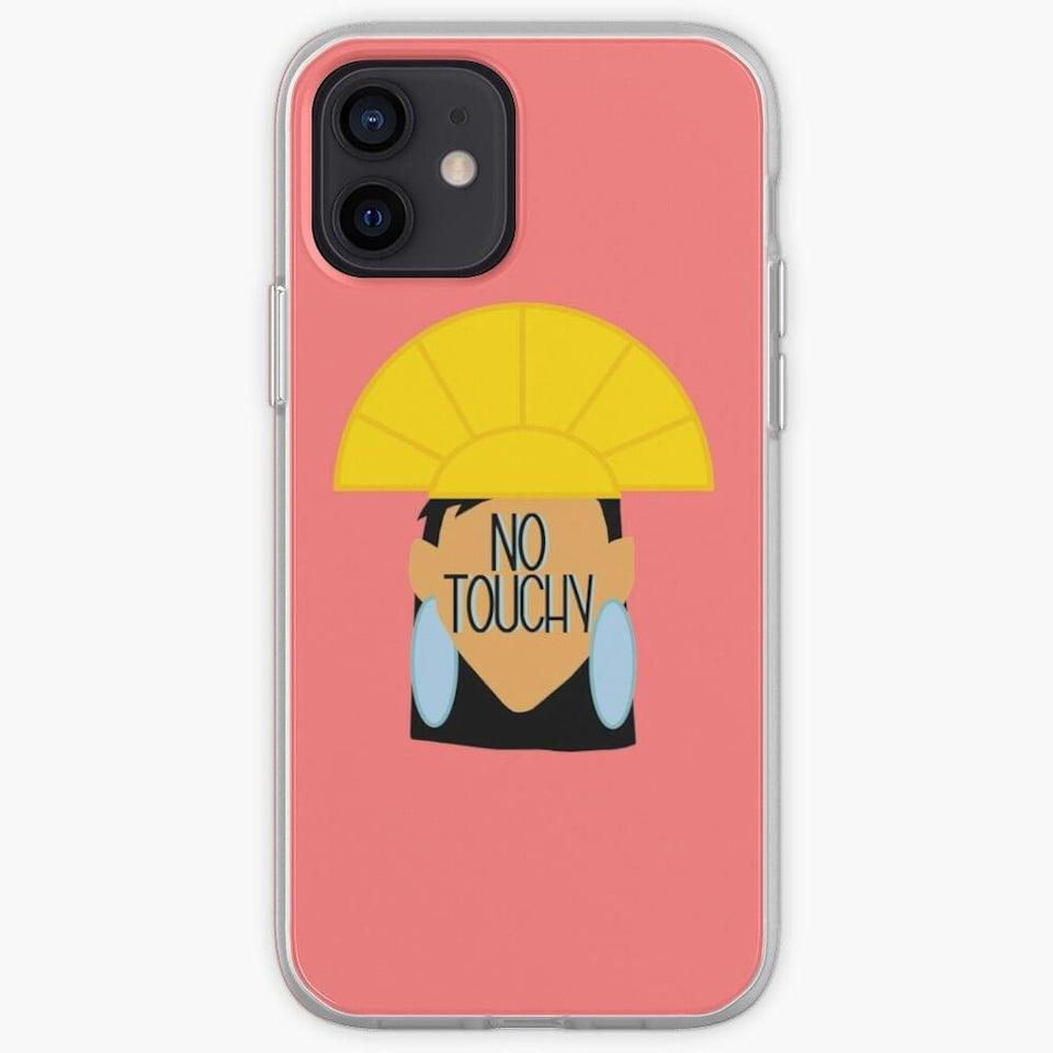 <p>This <span>'No Touchy' Emperor's New Groove Case</span> ($23) is perfect if you get antsy about people touching your phone without your permission.</p>