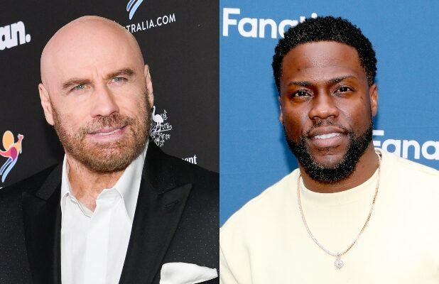 John Travolta to Star Opposite Kevin Hart in Quibi 'Die Hart' Action-Comedy Series