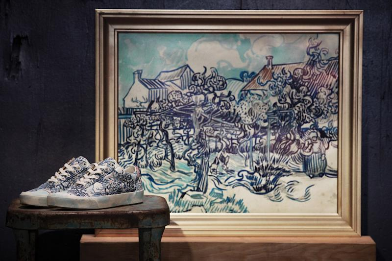d11f598d6ee1 Vans Takes Vincent Van Gogh s Art Off the Wall and Onto Your Sneakers