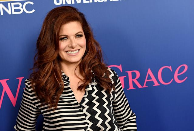 Debra Messing opened up on Twitter about her own battle with depression. (Photo: Getty Images)