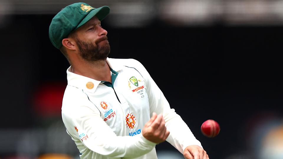 Matthew Wade has been dropped from the Australian Test team for the tour of South Africa. (Photo by PATRICK HAMILTON/AFP via Getty Images)