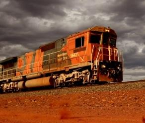 Off the rails: BHP train drivers have rejected a pay offer. Picture: Nic Ellis/The West Australian