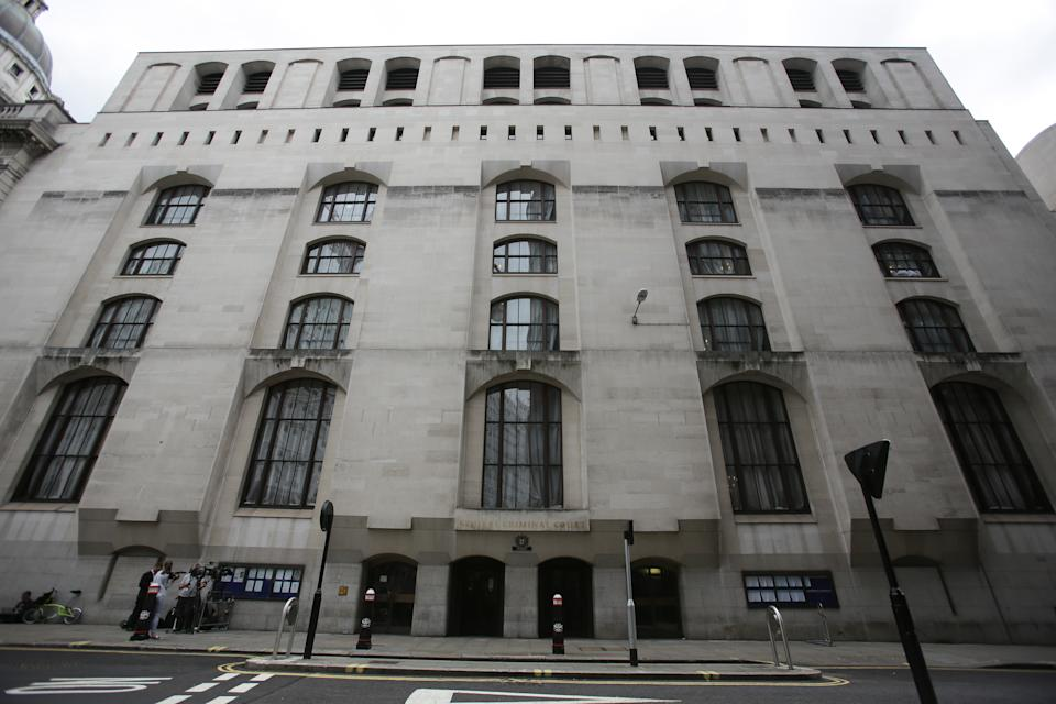 A general view of the Central Criminal Court in the Old Bailey, London.