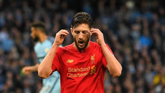 Jurgen Klopp insisted Adam Lallana did not need to apologise for his late miss in Liverpool's 1-1 draw at Manchester City on Sunday.