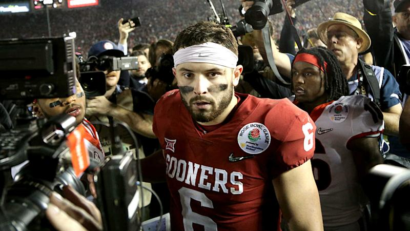 The best jokes about Baker Mayfield and Mark Andrews' newly-installed plaques