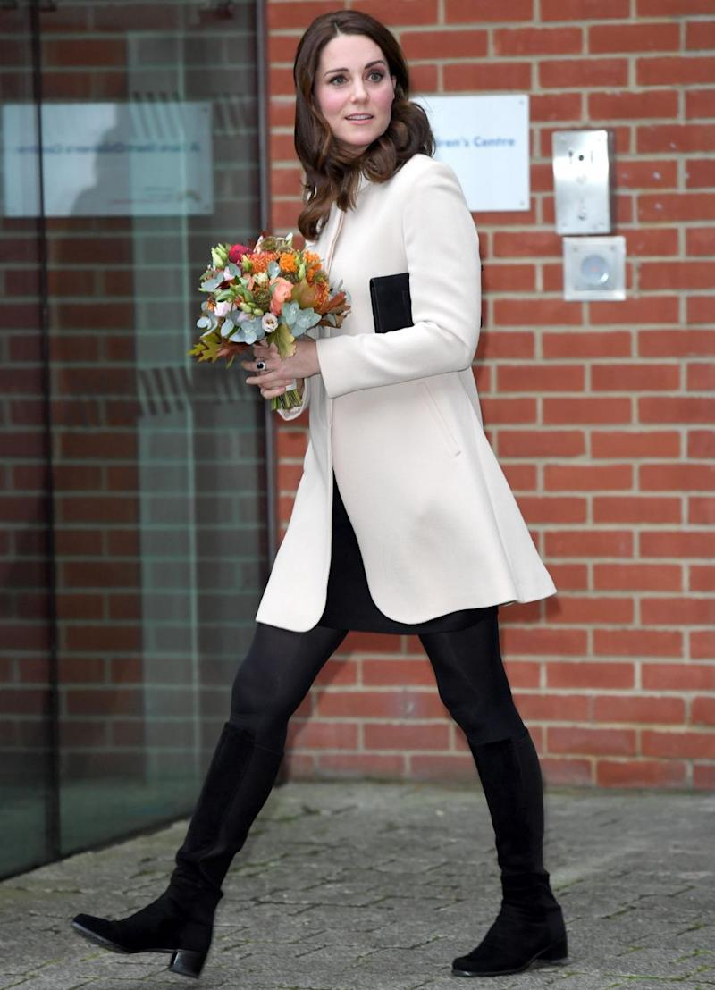 Kate Middleton appeared at Hornsey Road Children's Centerto meet with kids and parents yesterday. Photo: Getty Images