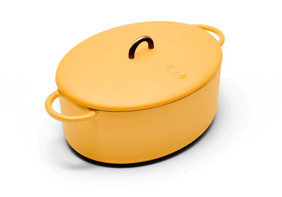 <p>This bestselling and multifunctional <span>Great Jones The Dutchess</span> ($155) dutch oven doubles as a roasting pan and can cook anything from roasted chicken to cinnamon rolls. Plus, it comes in an array of chic colors and is even dishwasher safe.</p>