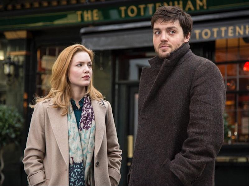Holliday Grainger and Tom Burke in the BBC adaptation of Strike (BBC)