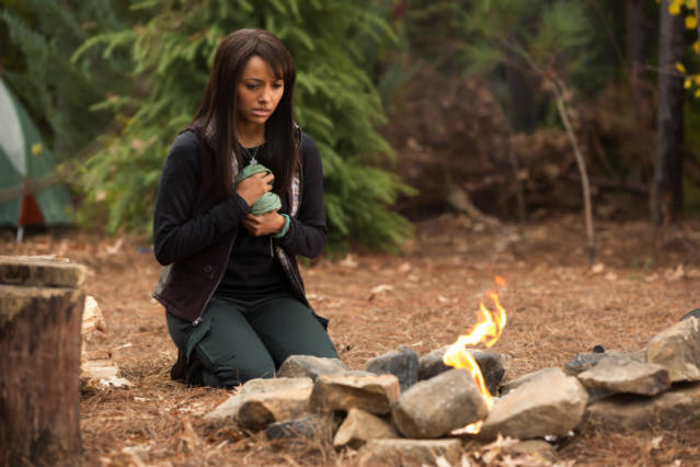"""Into the Wild"" -- Kat Graham as Bonnie"