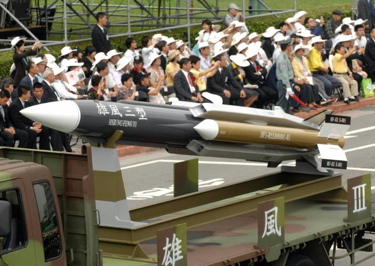 Taiwan unveiled its Hsiung-feng III (Brave Wind) anti-ship missile in 2007