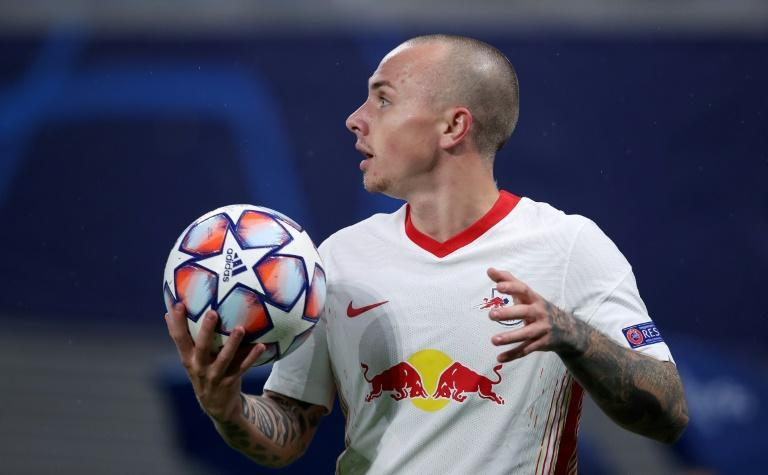 Leipzig's left-back-cum-winger Angelino scored two superb goals against Istanbul Basaksehir on Tuesday